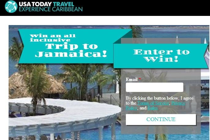 Win a trip to Jamaica
