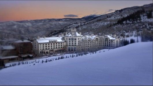 The Park Hyatt in Beaver Creek Colorado offer ski-in ski-out service.