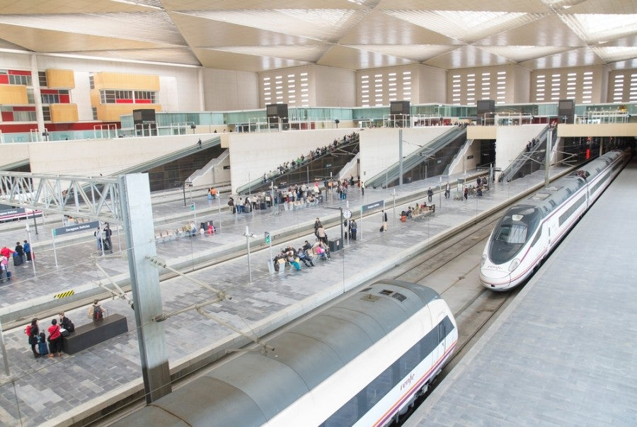 RENFE is the company that operates Spanish trains. Image courtesy of David Herraez Calzada / Shutterstock.com