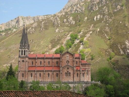 The monastery at Covadonga