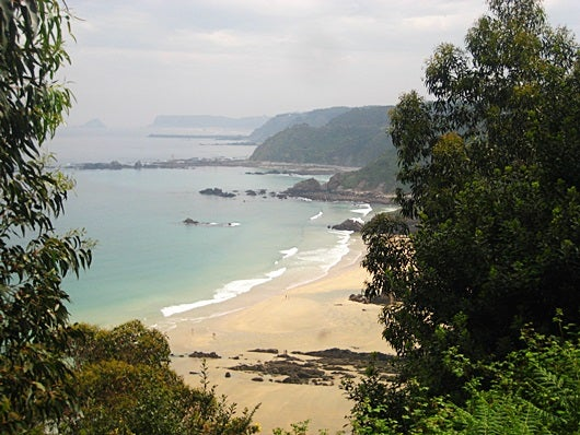 Playa de Aguilar, a few miles east of Cudillero