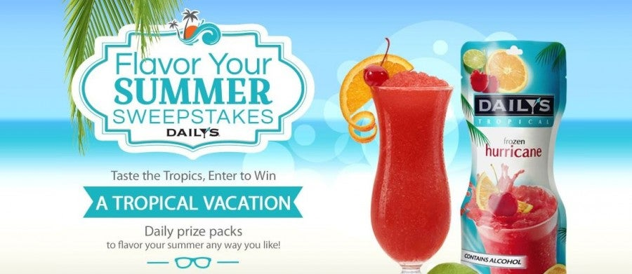 Win a trip to a Sandals resort