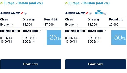 Flying Blue Promo awards can be the way to visit Israel with the fewest miles.