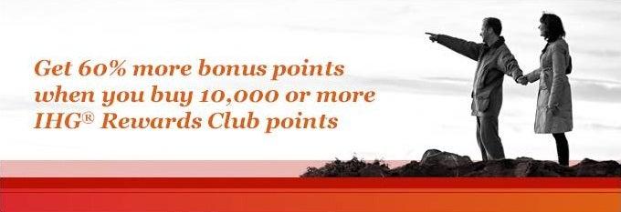 IHG 60 percent bonus banner