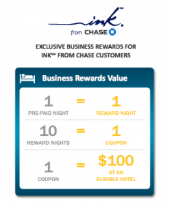 Expedia has teamed up with Chase Ink to offer small business rewards.