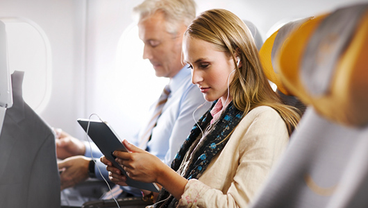Lufthansa's FlyNet is widely available on their international long-haul fleet.