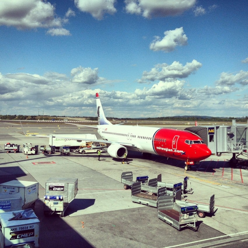 One of Norwegian's 737-800's at OSL.