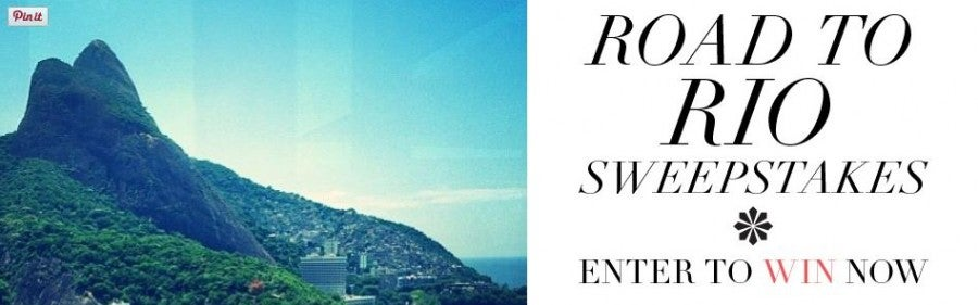 Win a trip to Rio de Janeiro