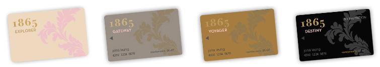 Langham's 1865 loyalty program has four status tiers