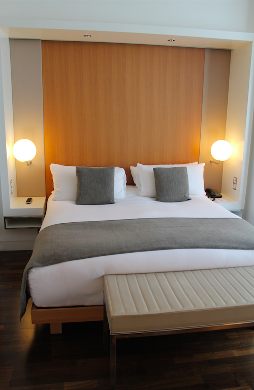 King Bed in the Mode Room