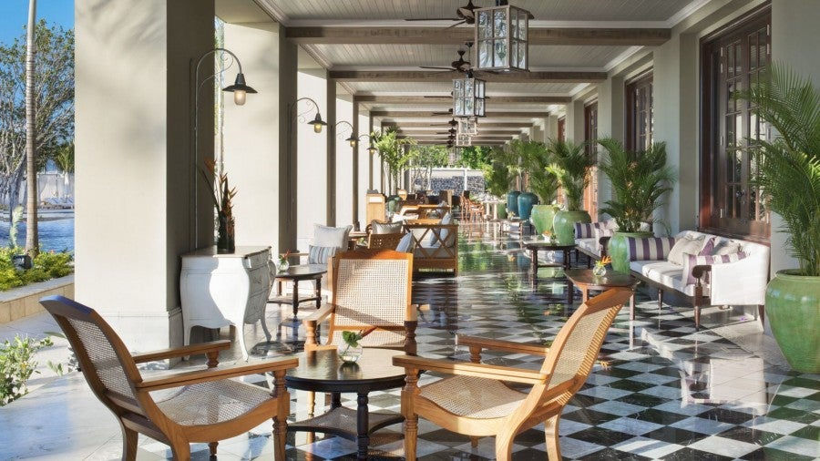My wife and I got full breakfast as the Platinum amenity at the St. Regis in Mauritius.