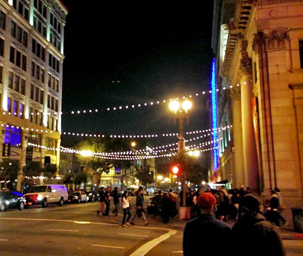 Downtown Art Walk in Los Angeles (photo by Nat George)