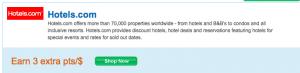hotels dot com UR 3x
