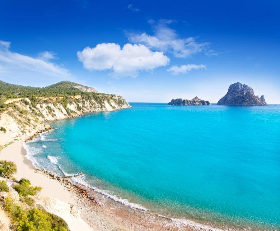 Cala d'Hort, Ibiza, Spain