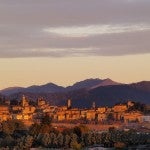 The Citta Alta (High City) of Bergamo. Image courtesy of Karol Kozlowski via Shutterstock