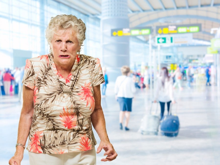 This lady is ready to unleash the hate at Spirit Airlines. Image courtesy of Shutterstock