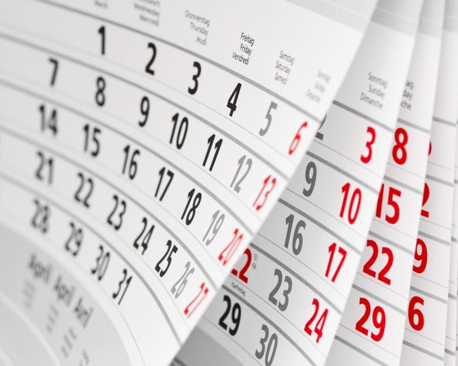 Should you pick the same date every three months to apply for a card? Image courtesy of Shutterstock