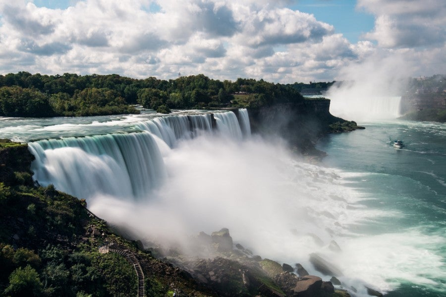 Win a trip to Niagara Falls. Image courtesy of Shutterstock