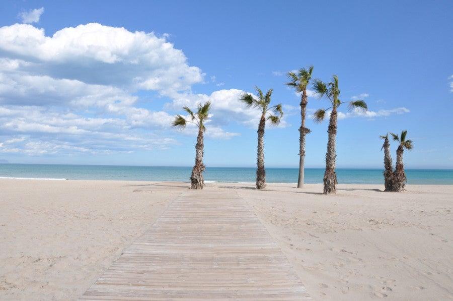 The beach in San Juan de Alicante