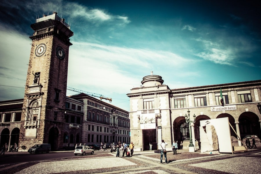 The Torre Civica in Bergamo. Image courtesy of Shutterstock