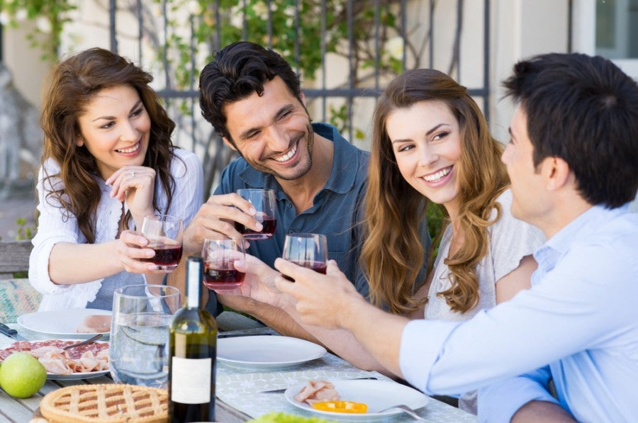 If you enjoy dining out, this is an easy way to earn some extra bonus points. Image courtesy of Shutterstock