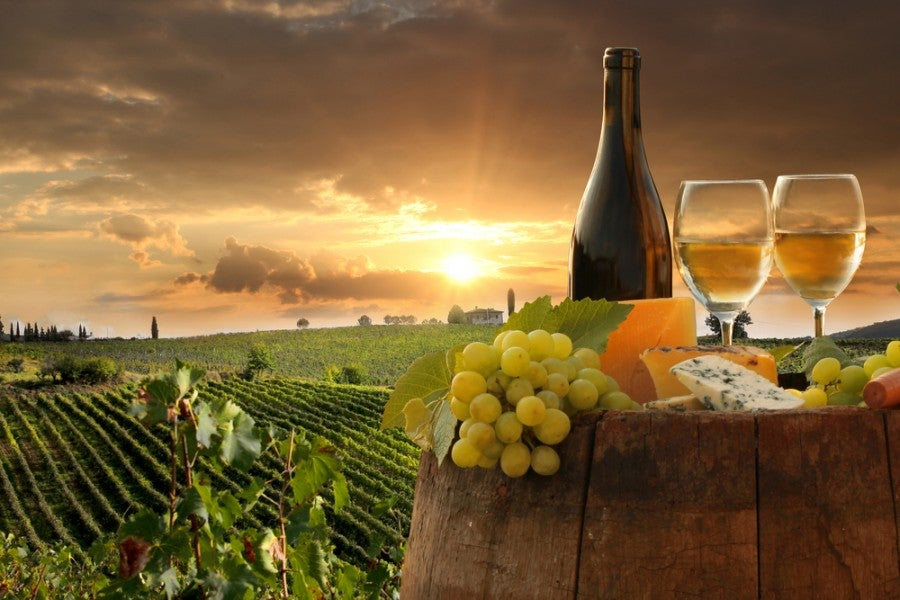 Win a wine tasting getaway to Tuscany. Image courtesy of Samot/Shutterstock.com