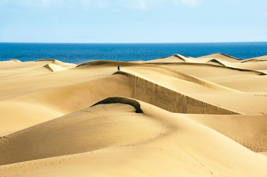 The sand dunes in Maspalomas. Image courtesy of Shutterstock