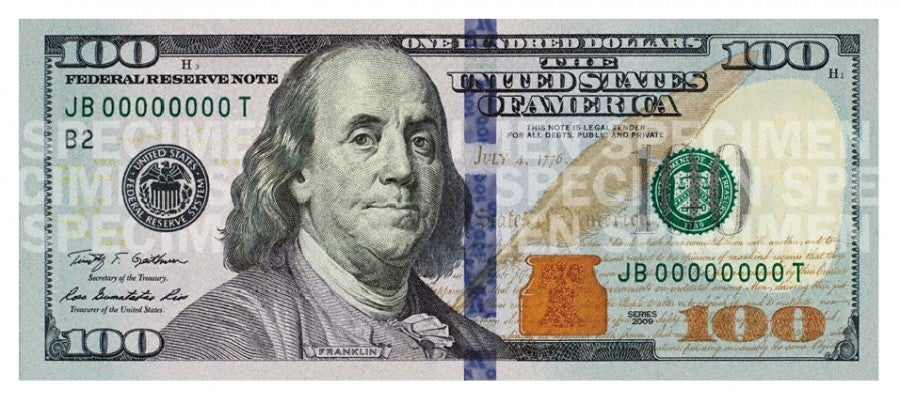 You'll get a better exchange rate with higher denominations - be sure your bills are 2009 series or later.