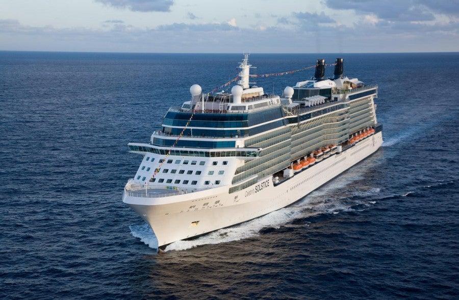 Celebrity Solstice, part of their 11-ship fleet