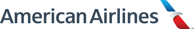 American Airlines logo banner