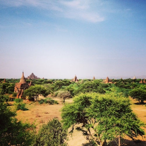 Getting to Bagan was a priority for me.