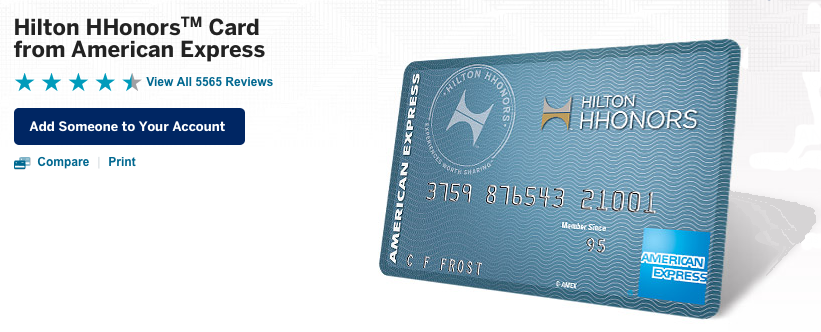 The Hilton HHonors American Express is the clear winner in the fee-free category.