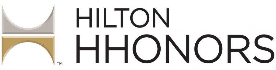 Hilton HHonors logo banner