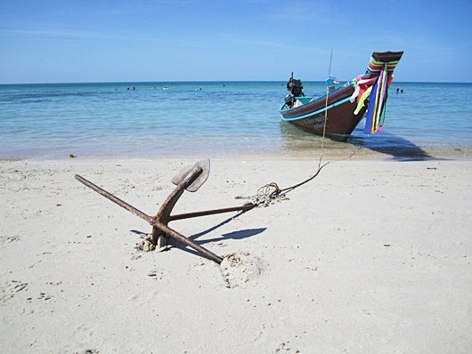 Water taxi, anyone? I took this one from Chakolum to Bottle Beach in Koh Phangan. Price? $2.
