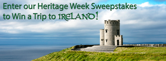 Win a trip to Ireland