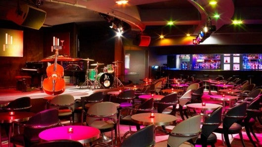 The Jazz Club at the Le Meridien Etoile