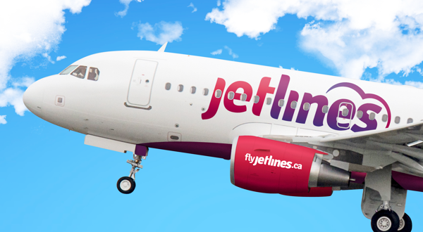 A branding concept for the possible new Canadian budget airline, Jetlines