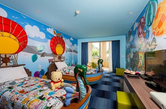 The Kids Suite at the Holiday Inn Phuket, Thailand