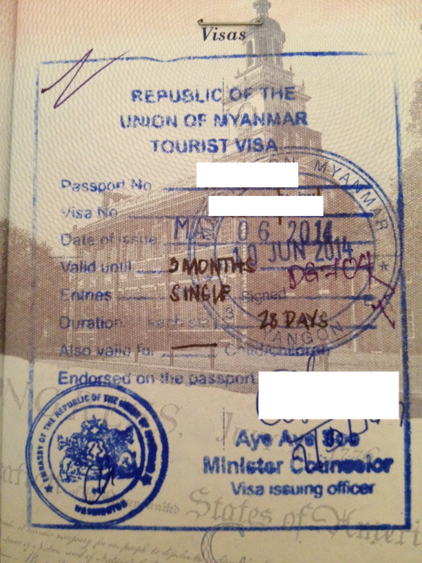 You've got to time your visa right.