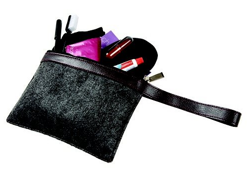 The Virgin Atlantic Upper Class amenity kit on inbound flights