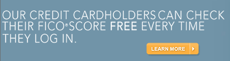 First Bankcard offers its cardholders free access to their credit scores any time via its website