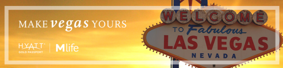 Earn up to 3,000 Hyatt Gold Passport stays on 3-night Vegas stays by December 30,2014