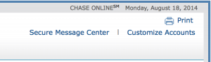 Chase still has their Secure Messaging Center.