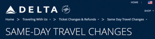 Delta is making more changes to their SDC policy.