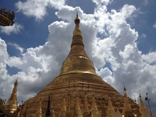 Gleaming Shwedagon Pagoda is probably the city's most visited sight.