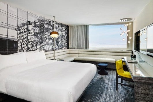 A Spectacular Room at the W Chicago Lakeshore