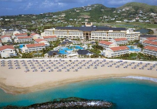 Relax at the St. Kitts Marriott