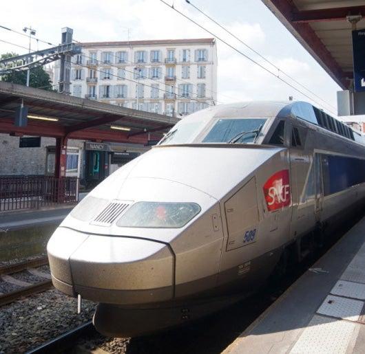 TGV in Nancy