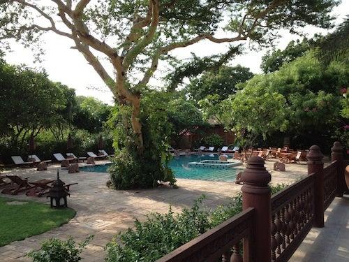 The pool at Tharabar Gate.