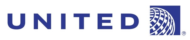 United Airlines logo banner